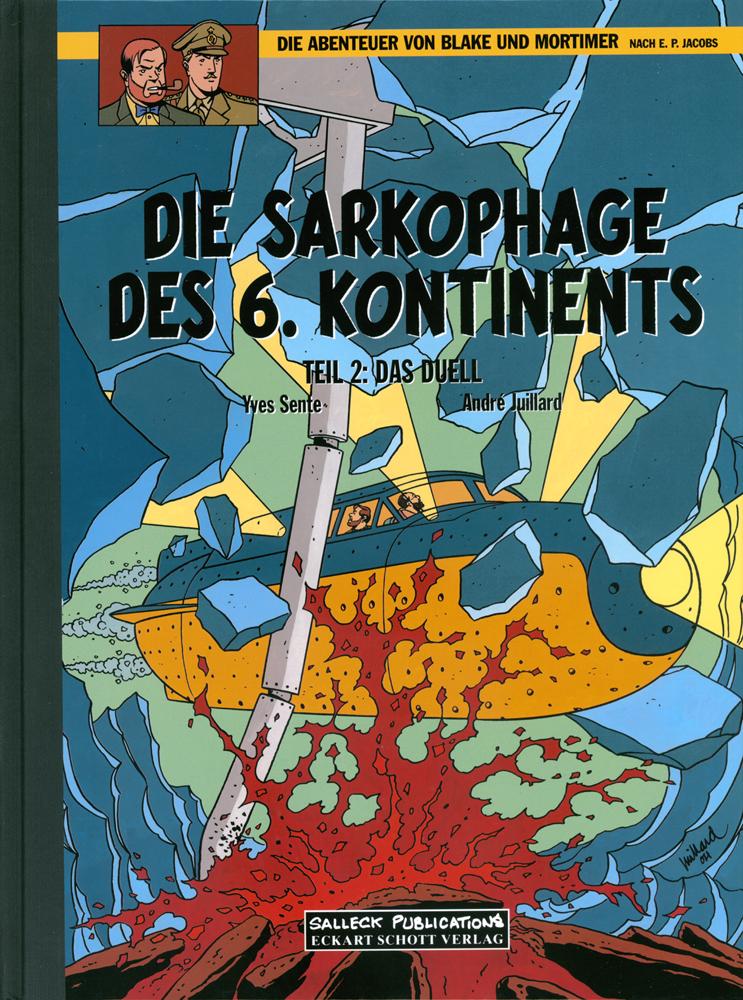 Abenteuer von Blake und Mortimer 14: Die Sarkophage des 6. Kontinents II Das Duell