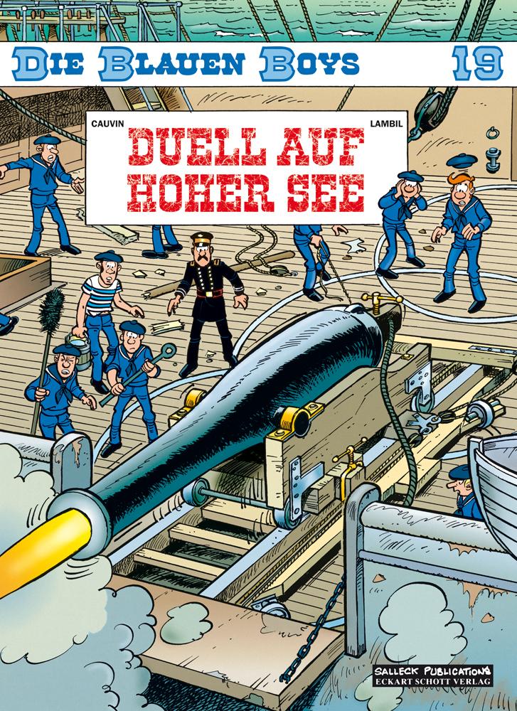 Blauen Boys 19: Duell auf hoher See