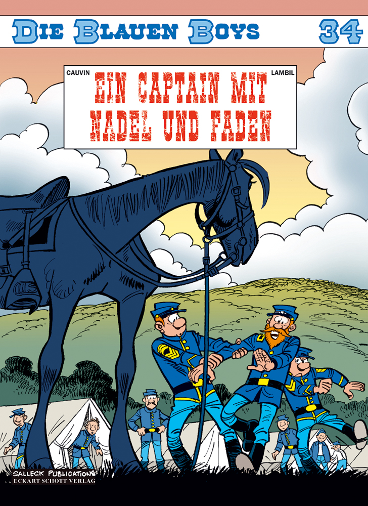 Blauen Boys 34: Ein Captain mit Nadel und Faden