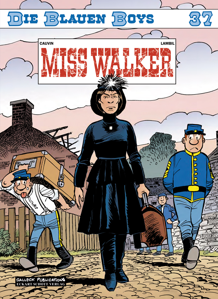Blauen Boys 37: Miss Walker