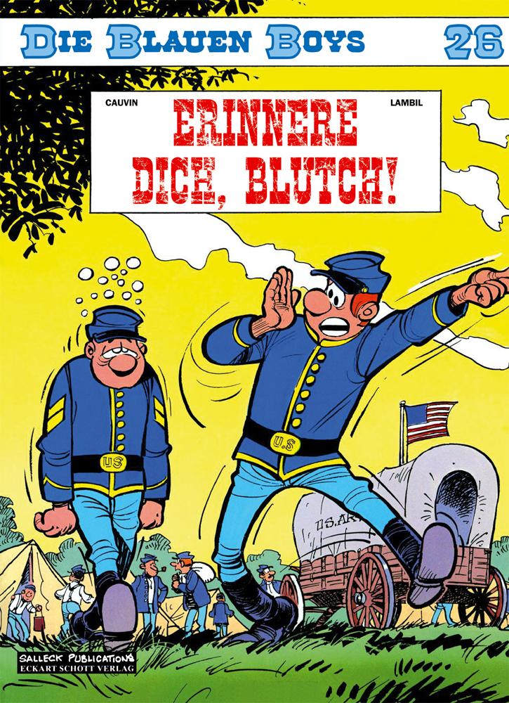 Blauen Boys 26: Erinnere dich, Blutch!