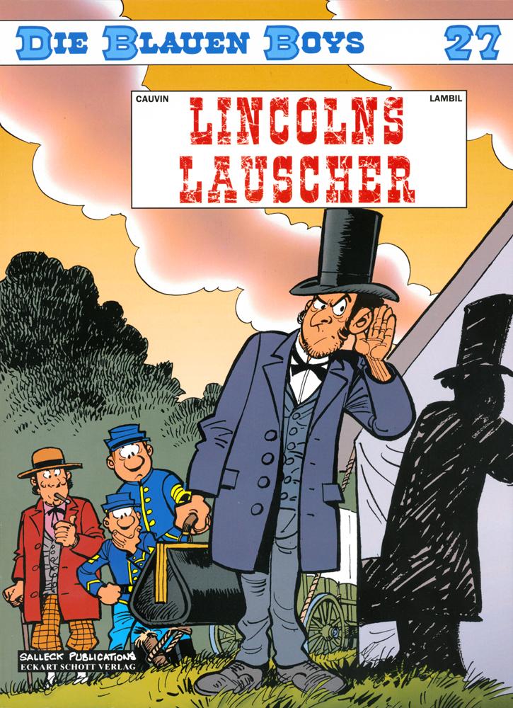 Blauen Boys 27: Lincolns Lauscher