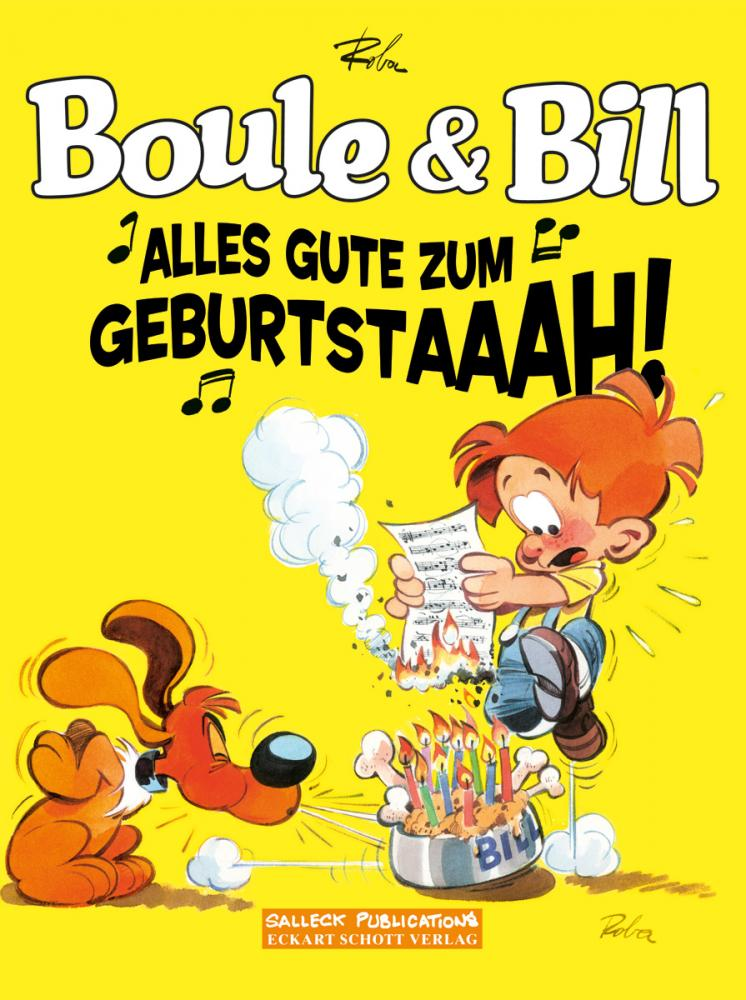 Boule & Bill Sonderband: Alles Gute zum Geburtstaaah!
