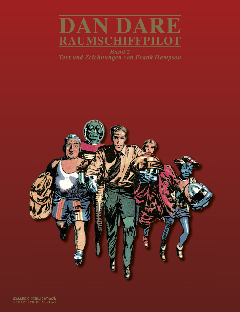 Dan Dare - Raunmschiffpilot Band 2