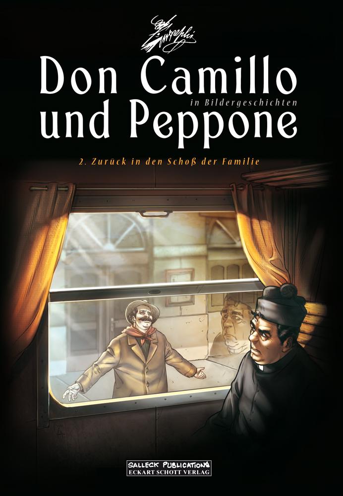 Don Camillo und Peppone (in Bildergeschichten) 2: Zurück in den Schoß der Familie