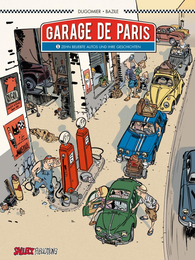 Garage de Paris 1: Zehn beliebte Autos und ihre Geschichten