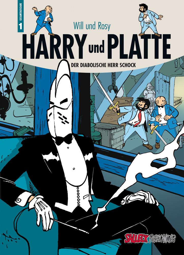 Harry und Platte Gesamtausgabe 1: Der diabolische Herr Schock