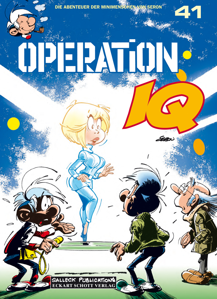 Abenteuer der Minimenschen 41: Operation IQ