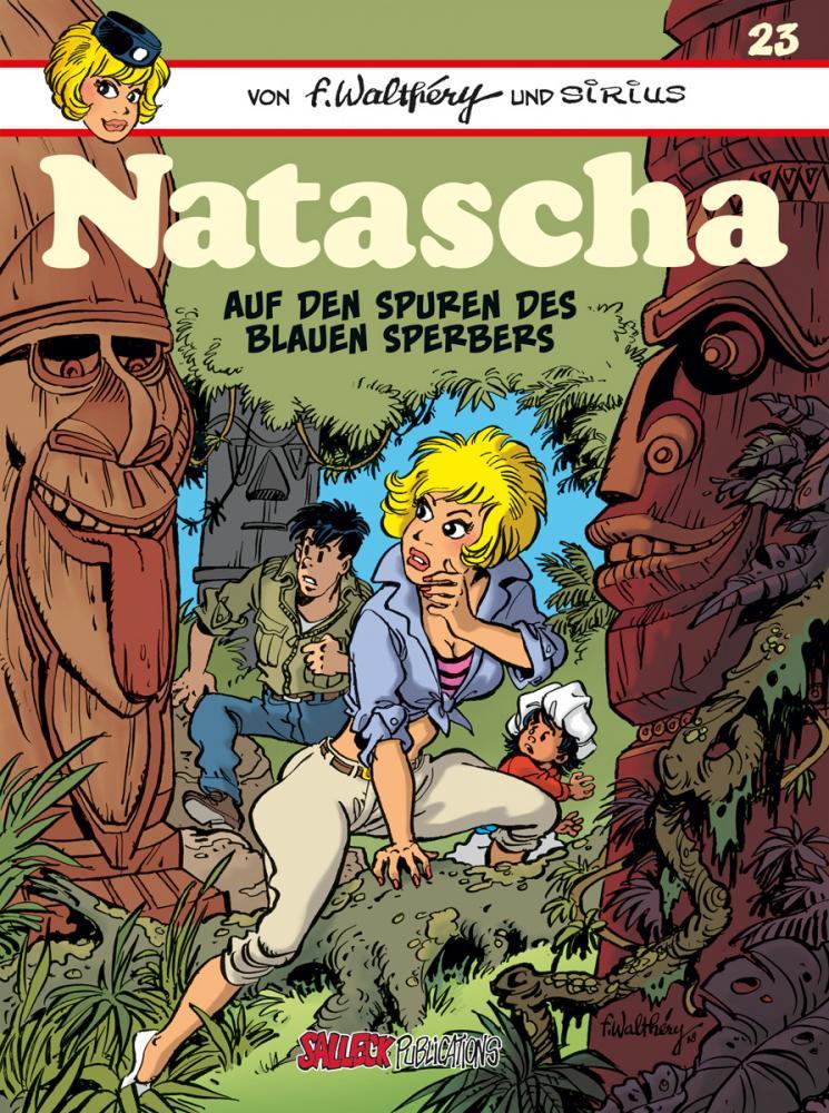 Natascha 23: Auf den Spuren des Blaue Sperbers