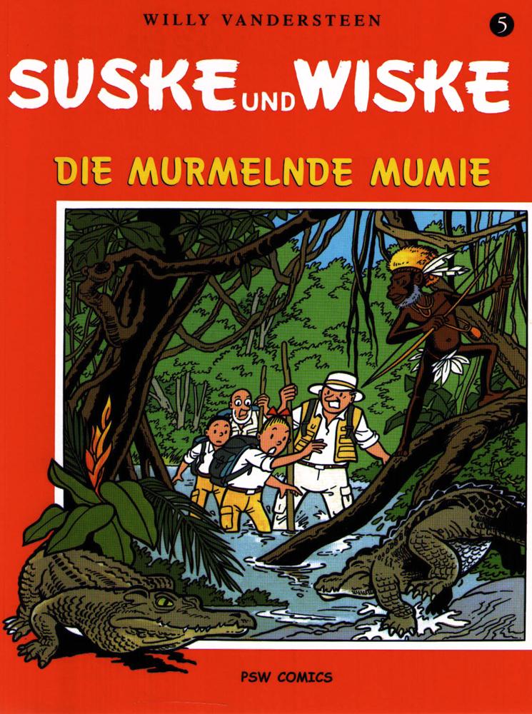 Suske und Wiske  5: Die murmelnde Mumie