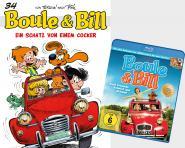 Boule & Bill 34: Ein Schatz von einem Cocker + Blu-ray Boule & Bill – Zwei Freunde Schnief und Schnuff