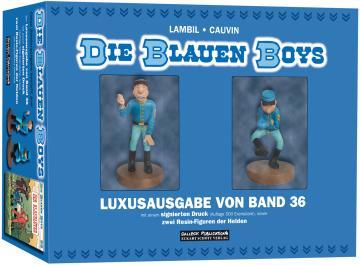 Blauen Boys 36: Der Blaublüter (Vorzugsausgabe / Figurenedition)