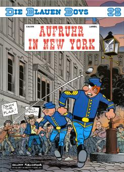 Blauen Boys 28: Aufruhr in New York