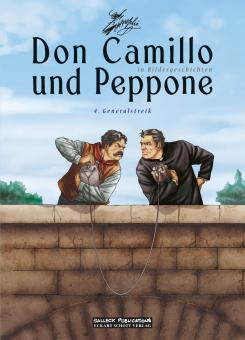 Don Camillo und Peppone (in Bildergeschichten) 4: Generalstreik