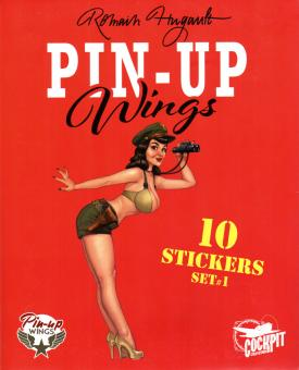 Pin-Up Wings Sticker Set 1+2