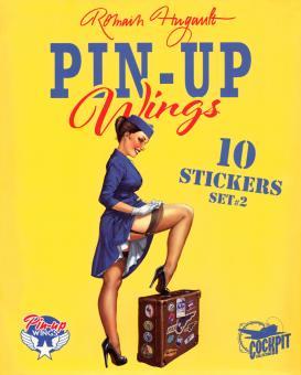 Pin-Up Wings Sticker Set 2
