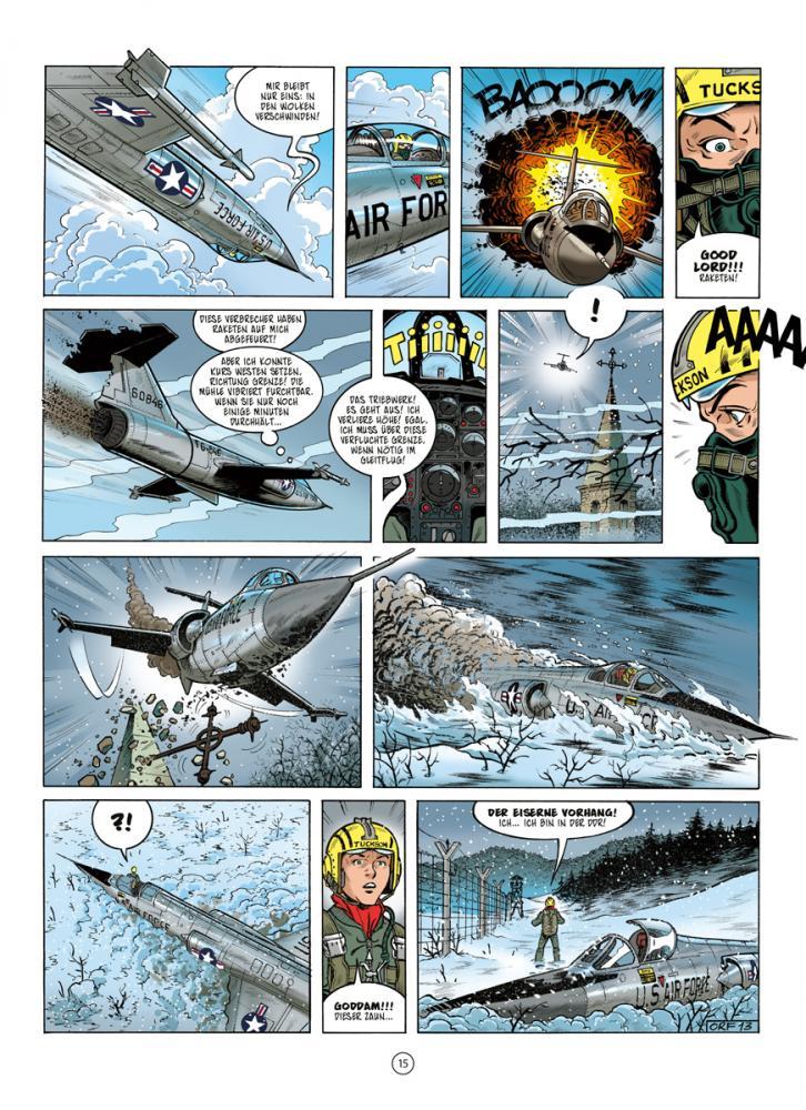 Salleck Publications Neuen Abenteuer Von Buck Danny 5 Operation Eiserner Vorhang