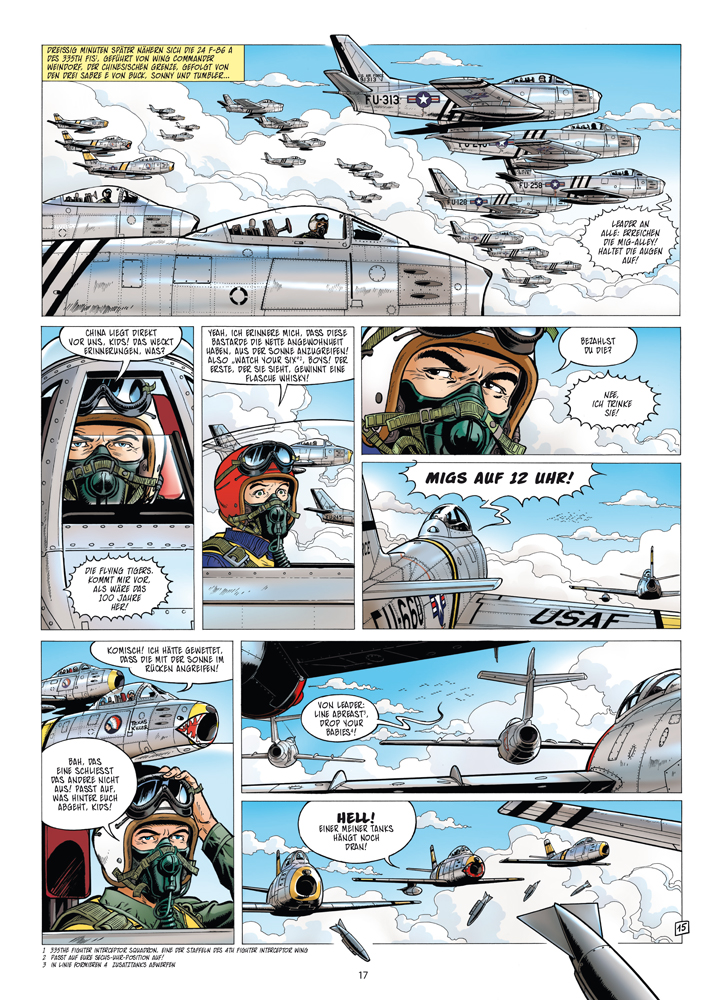 Die neuen Abenteuer von Buck Danny 3 Die Geister der aufgehenden Sonne COMIC NEU